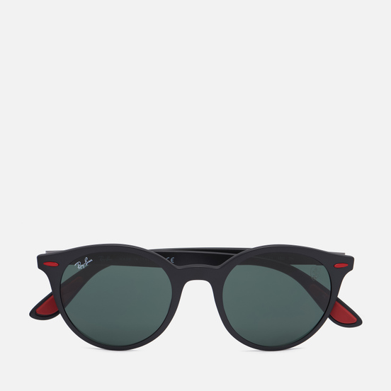 Солнцезащитные очки Ray-Ban x Scuderia Ferrari RB4296M Matte Black/Green
