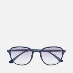 Солнцезащитные очки Ray-Ban RB4341 Sanding Dark Blue/Clear Gradient Light Blue