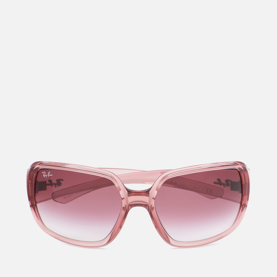 Солнцезащитные очки Ray-Ban RB4347 Polished Transparent Pink/Pink