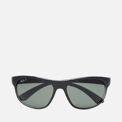 Солнцезащитные очки Ray-Ban RB4351 Polarized Black On Transparent/Dark Green Polar