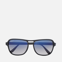 Солнцезащитные очки Ray-Ban RB4356 Polarized Black/Transparent Black/Polarized Blue Gradient