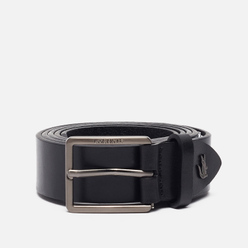 Ремень Lacoste Engraved And Embossed Crocodile Black