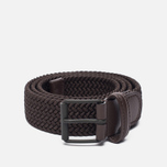 Ремень Anderson's Braided Woven Textile Mono Dark Brown фото- 0