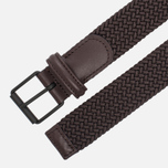 Ремень Anderson's Braided Woven Textile Mono Dark Brown фото- 1
