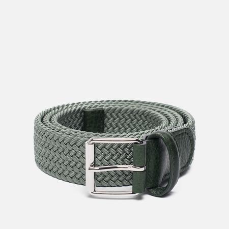 Ремень Anderson's Braided Woven Textile Mono Green