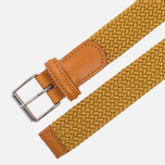 Ремень Anderson's Braided Woven Textile Mono Yellow фото- 1