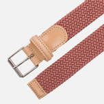 Ремень Anderson's Braided Woven Textile Mono Light Pink фото- 1