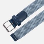 Ремень Anderson's Braided Woven Textile Mono Blue фото- 1