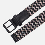 Ремень Anderson's Braided Woven Textile Multicolor Grey/Navy/Blue фото- 1