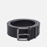 Ремень Anderson's Classic Calf Leather Caviar Black фото- 0