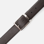 Anderson's Classic Calf Leather Texture Belt Brown photo- 2