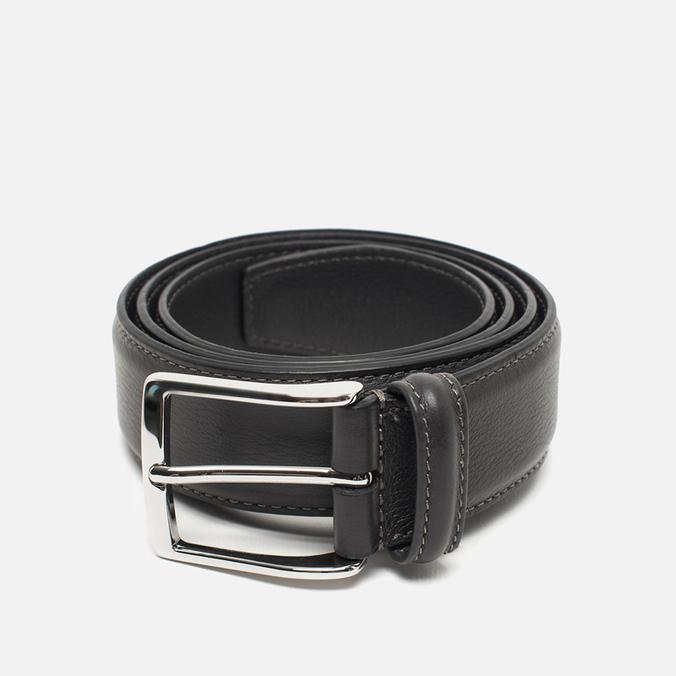 Ремень Anderson's Classic Soft Leather Grey