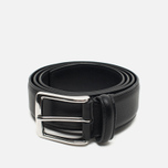 Ремень Anderson's Classic Soft Leather Black фото- 0