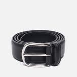 Ремень Anderson's Classic Leather Black/Black фото- 0