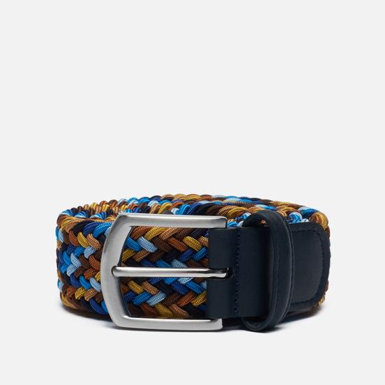 Ремень Anderson's Classic Multi Colour Elastic Woven Multicolor 002