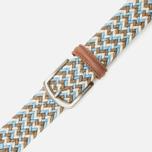 Anderson's Classic Wowen Multicolor Belt Brown/Blue/White photo- 2