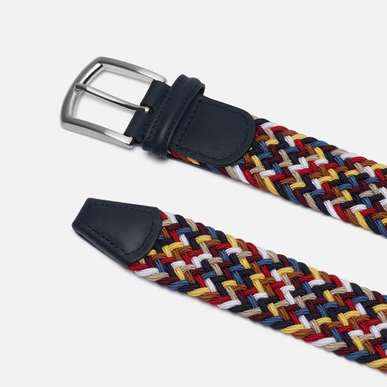 Ремень Anderson's Classic Multi Colour Elastic Woven Multicolor 056