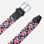 Ремень Anderson's Classic Woven Multicolor Pink/Yellow/Blue фото- 1