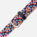 Ремень Anderson's Classic Woven Multicolor Pink/Yellow/Blue фото- 2