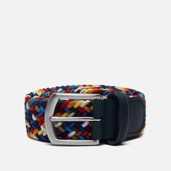 Ремень Anderson's Classic Multi Colour Elastic Woven Multicolor 058