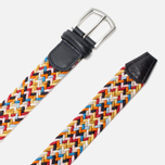 Ремень Anderson's Classic Woven Multicolor Yellow/Orange фото- 1