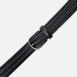 Ремень Anderson's Classic Woven Stretch Leather Black фото- 2