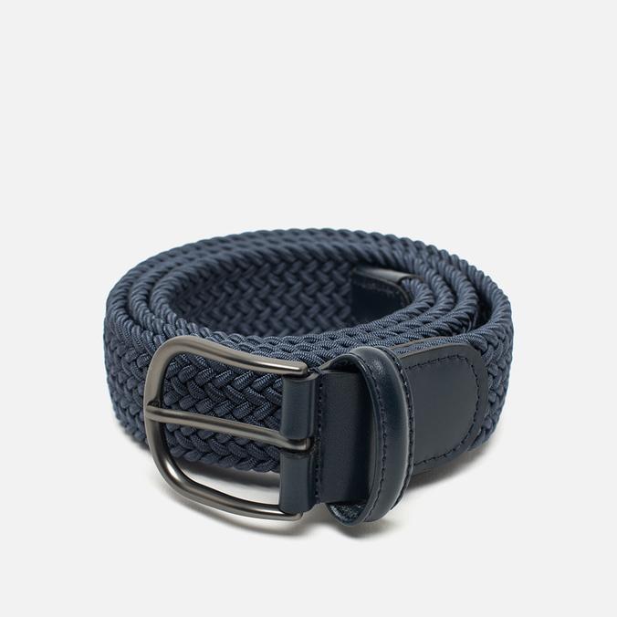Anderson's Classic Woven Textile Belt Blue