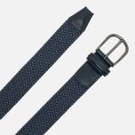 Anderson's Classic Woven Textile Belt Blue фото- 1