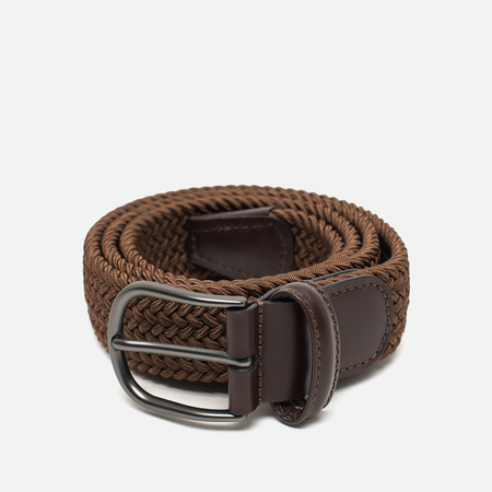 Anderson's Classic Woven Textile Belt Brown