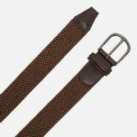 Ремень Anderson's Classic Woven Textile Brown фото- 1