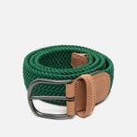 Ремень Anderson's Classic Woven Textile Green фото- 0