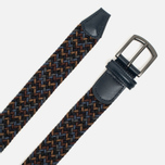 Ремень Anderson's Classic Woven Textile Multicolor Blue/Navy/Grey/Brown/Sand фото- 1