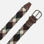 Anderson's Classic Woven Textile Multicolor Belt Brown/Beige/Green photo- 1