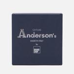Ремень Anderson's Classic Woven Textile Multicolor Grey/Navy/Red/Beige фото- 2