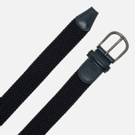 Anderson's Classic Woven Textile Belt Navy photo- 1