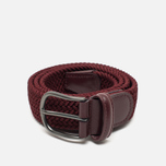 Anderson's Classic Woven Textile Belt Red photo- 0