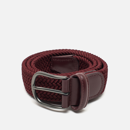 Ремень Anderson's Classic Woven Textile Red