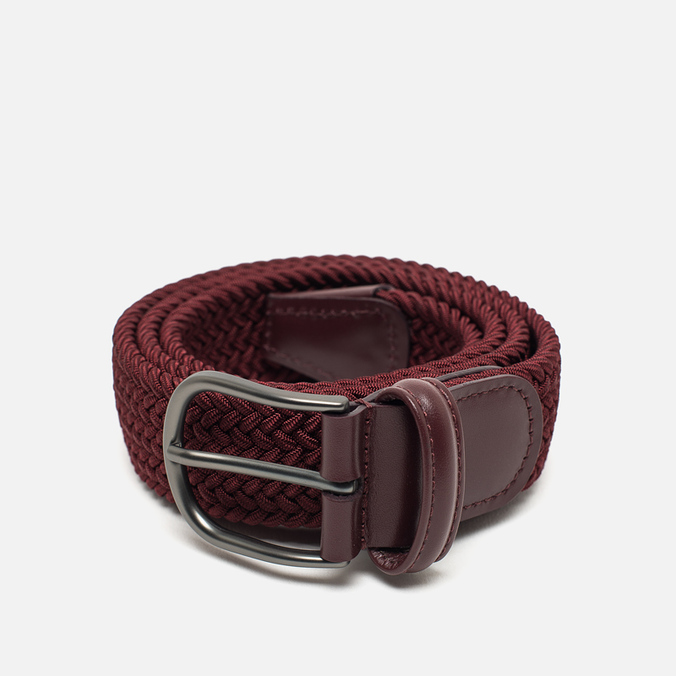 Anderson's Classic Woven Textile Belt Red