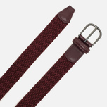 Anderson's Classic Woven Textile Belt Red photo- 1