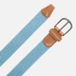 Anderson's Classic Woven Textile Belt Sky Blue photo- 1
