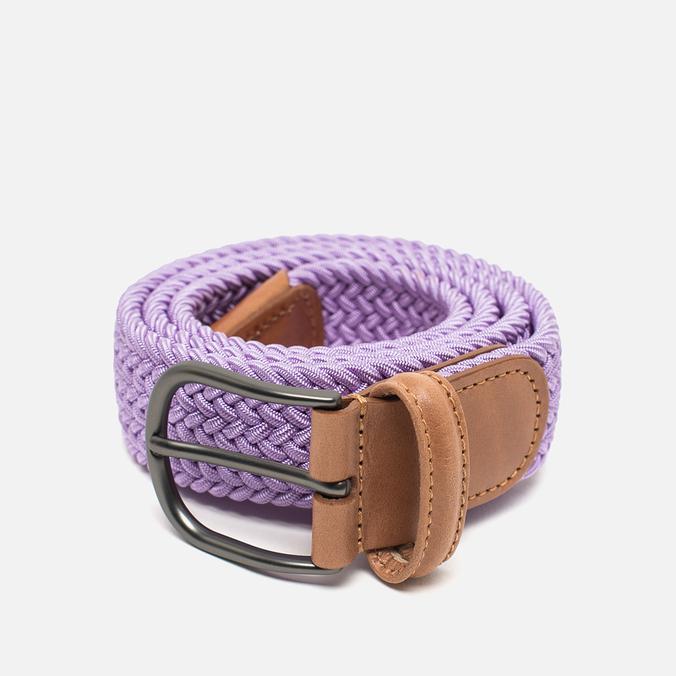 Ремень Anderson's Classic Woven Textile Violet
