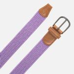 Ремень Anderson's Classic Woven Textile Violet фото- 1