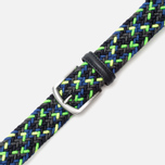 Ремень Anderson's Glow Woven Multicolor Green/Yellow/Black фото- 2