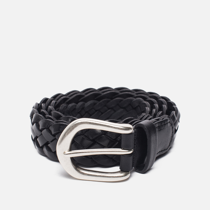 Ремень Anderson's Leather Woven Black