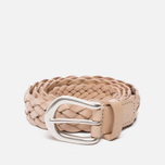Ремень Anderson's Leather Woven Natural фото- 0