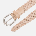 Ремень Anderson's Leather Woven Natural фото- 1