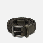 Anderson's Woven Textile Belt Olive photo- 0