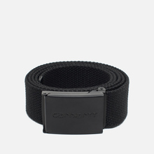 Ремень Carhartt WIP Clip Tonal Black фото- 0