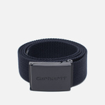 Carhartt WIP Clip Tonal Belt Dark Navy photo- 0