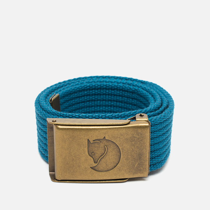 Детский ремень Fjallraven Canvas Brass Lake Blue